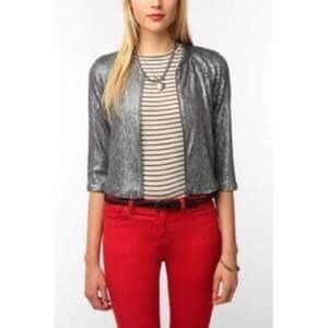 Silence + Noise sequin jacket